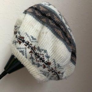 Isotoner argyle hat